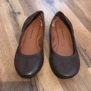 Lucky Brand Brown Flats
